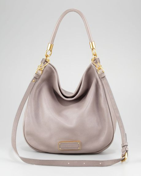 Marc By Marc Jacobs Too Hot To Handle Hobo Bag in Gray (black) - Lyst