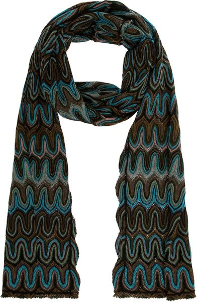 Missoni Scarf in Blue