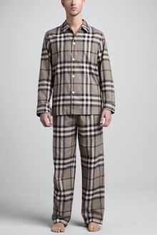 Burberry Check Pyjamas - Lyst