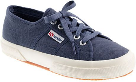 crew Superga Classic Sneakers in Blue (blue shadow