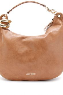 Jimmy Choo Solar L Leather Hobo - Lyst