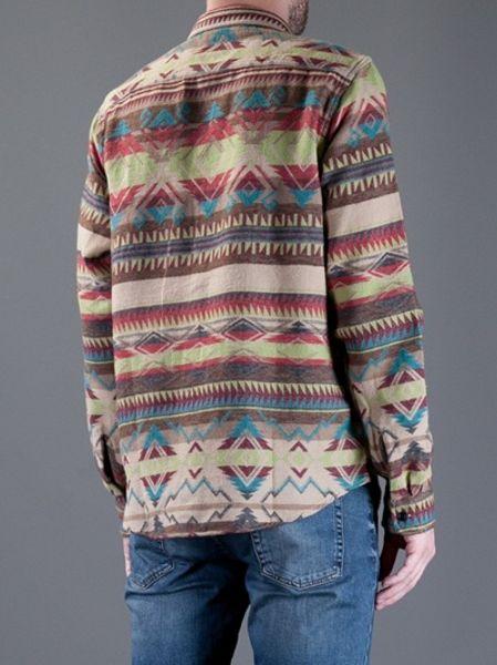 Ralph Lauren Patterned Shirt in Multicolor for Men (nude
