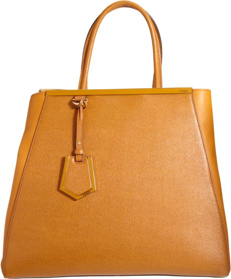 Fendi Large 2jours Tote in Brown (gold)