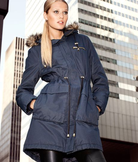 H&m Parka in Blue