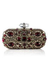 Marchesa Fw Lily Embroidered Clutch