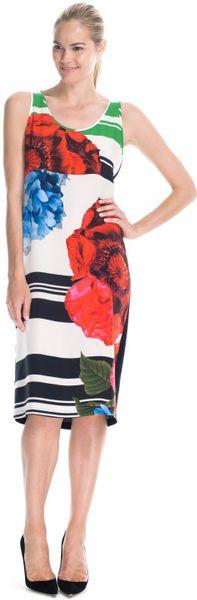 Preen By Thorton Bregazzi Resort Mason Dress in Multicolor (poppy print)