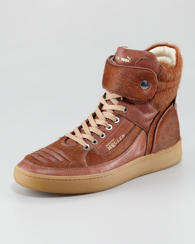 Joust Calfhair Hightop Sneaker