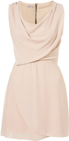 Topshop Cowl Neck Dress By Wal G - Lyst