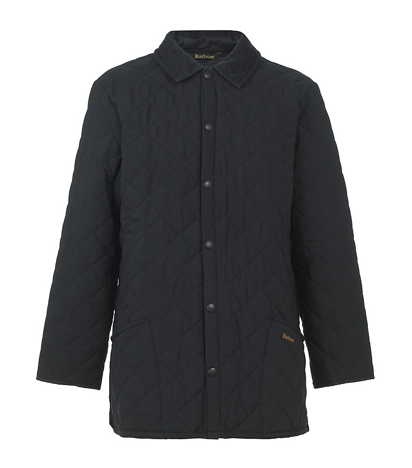 Barbour Eskdale Quilted Jacket In Black For Men Lyst