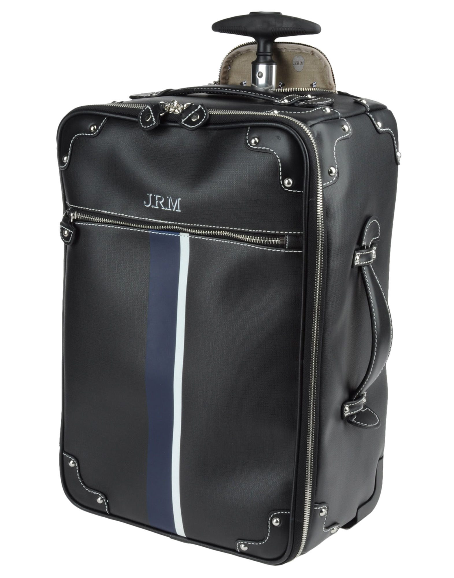 jack russell malletier wheeled luggage in black for men lyst. Black Bedroom Furniture Sets. Home Design Ideas