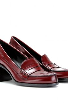 Jil Sander Master Loafer Pumps - Lyst