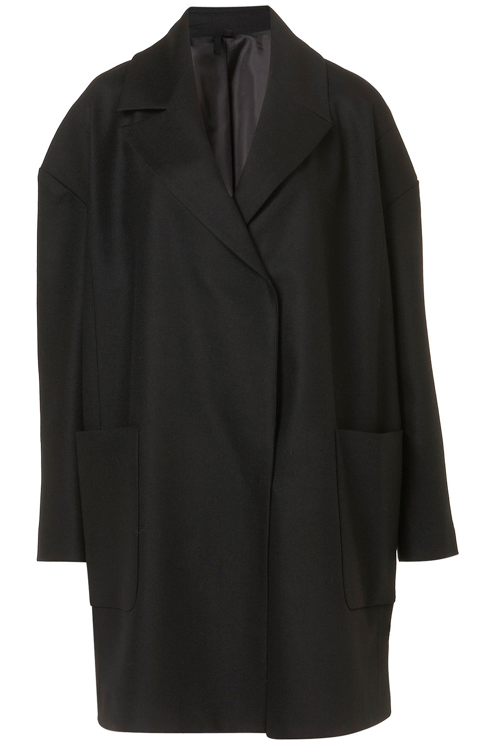 Lyst Topshop Oversized Mens Blazer By Boutique In Black