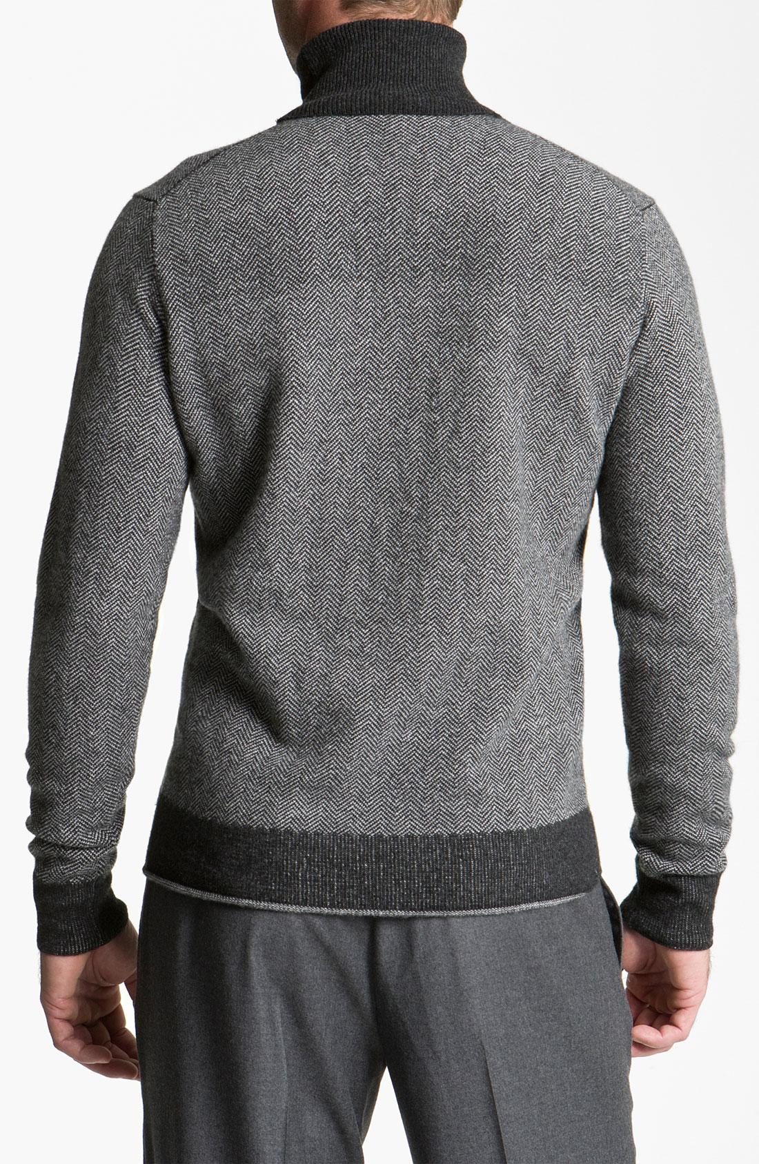 Merino Wool Sweater Men