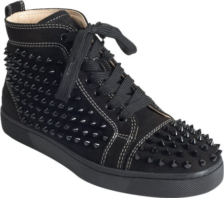 Christian Louboutin Louis Spikes in Black