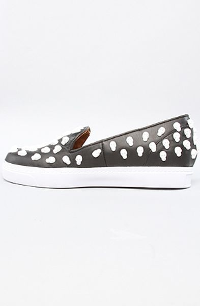 Jeffrey Campbell The Skullpou Shoe in Black and White Skulls in Gray (black) - Lyst