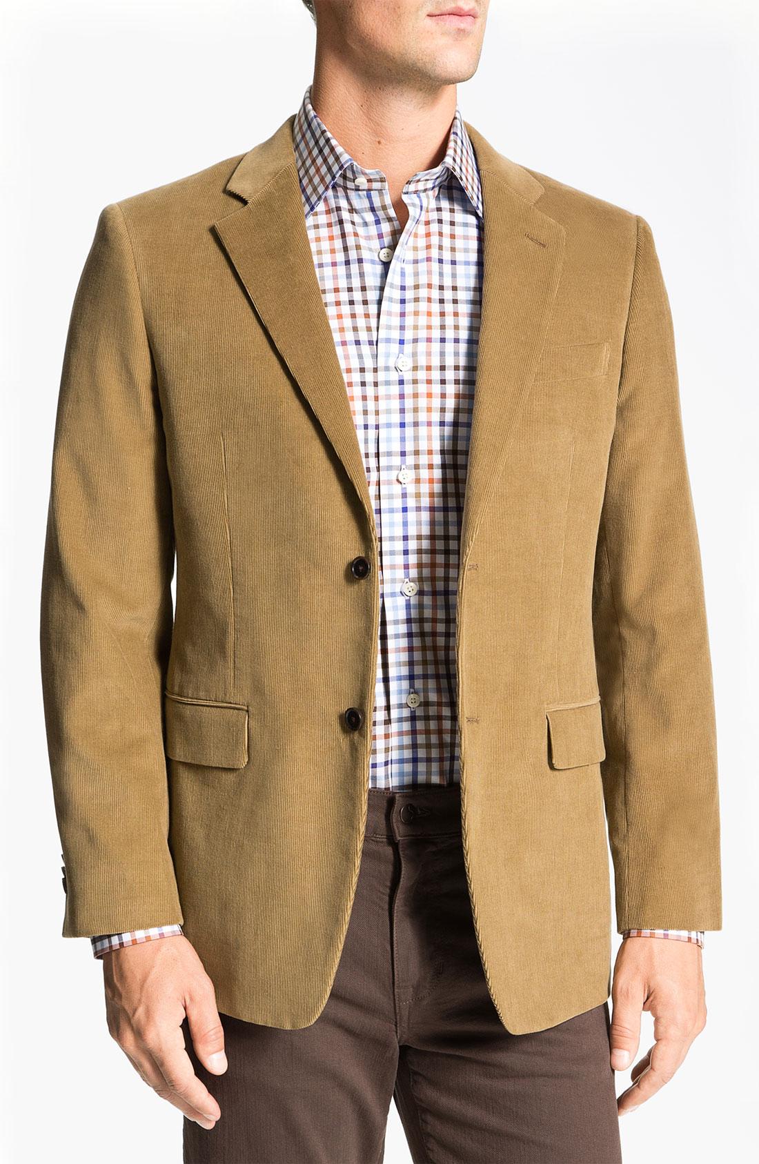 NWT Ralph Lauren Brown Corduroy Suit Jacket - Men's Size 44 Long Paisley Lining. $ +$ shipping. Make Offer. NWOT, MEN'S SPORT COAT BLAZER SUIT JACKET NAVY & STRIPED SIZE 42 R. $ +$ shipping. Make Offer. Ralph Lauren Polo Mens 40 R Black Corduroy Two Button Blazer Jacket Sport Coat.