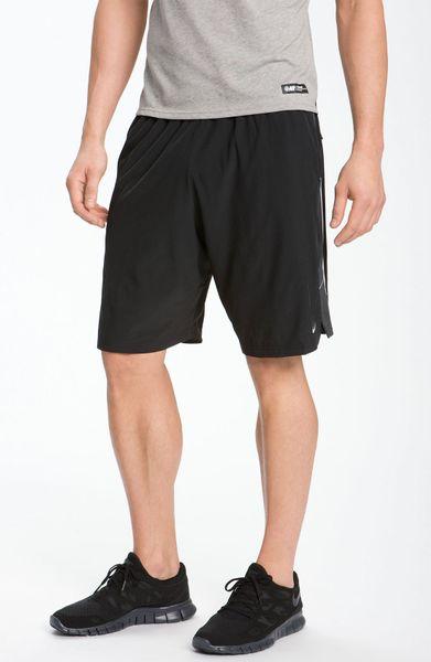 Nike Drifit Running Shorts in Black for Men