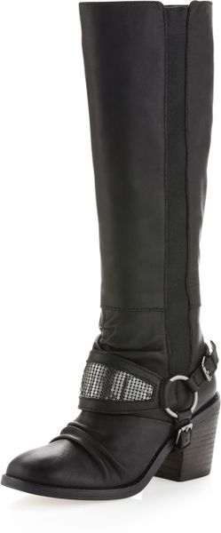 Seychelles Stockholm Leather Boot Black in Black