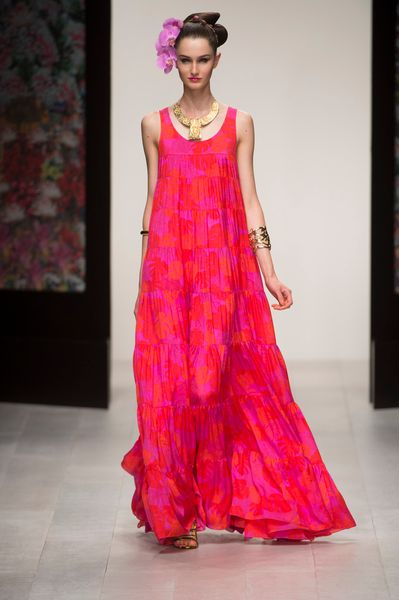 Issa Spring 2013 Runway Look 5 in  - Lyst