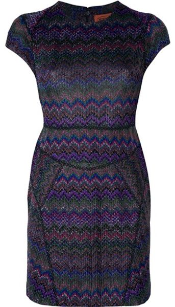 Missoni Fitted Dress in Multicolor (multicolour)