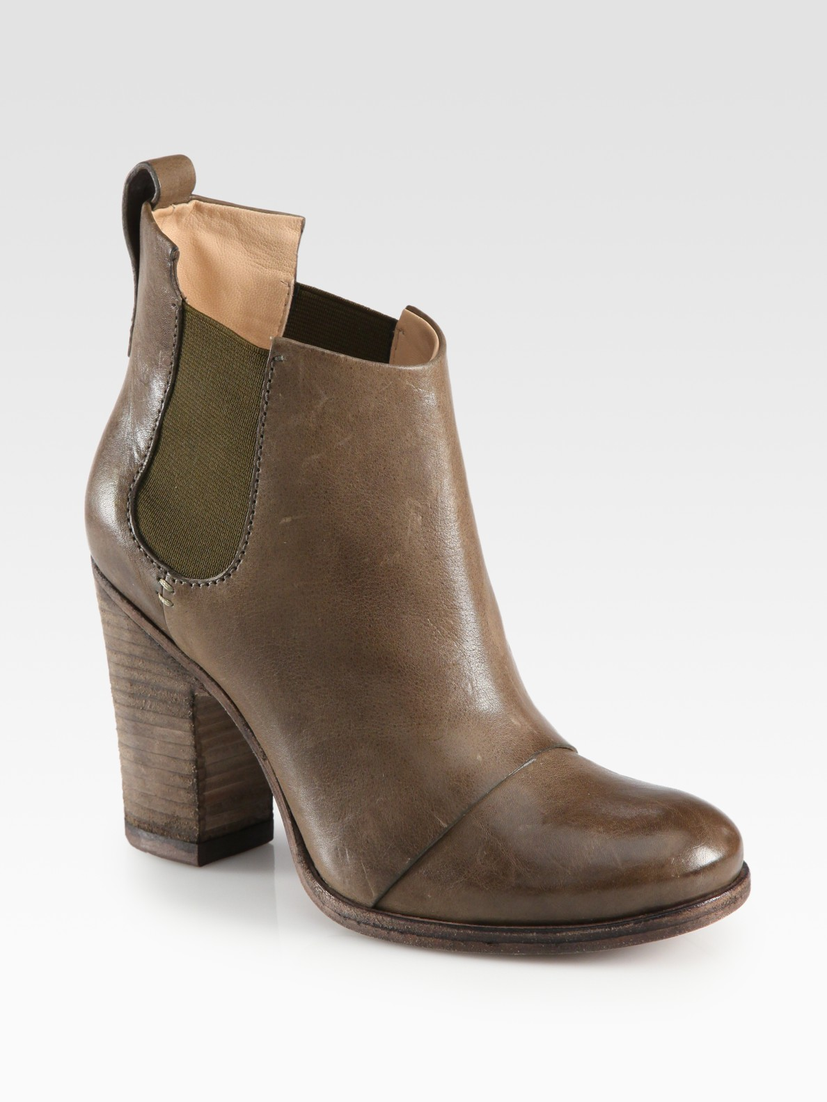 by sigerson morrison distressed leather ankle boots