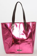 Betsey Johnson The Electric Feel Tote Bag in Pink