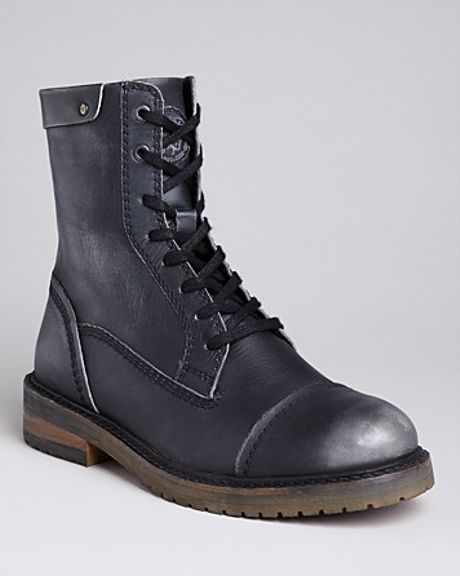 diesel anfist unplugged casual boots in black for lyst