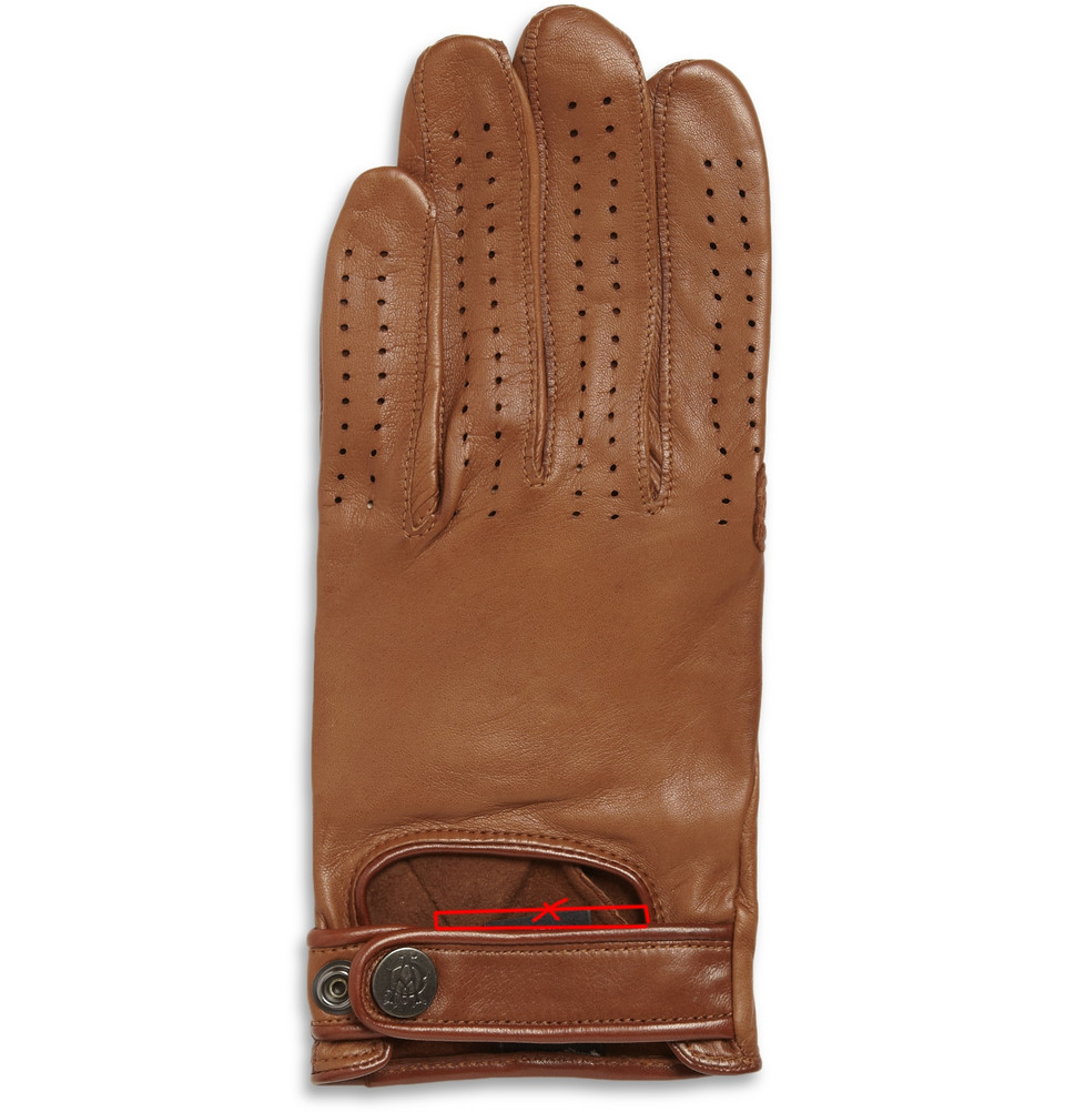 Mens leather driving gloves australia - Gallery Of Perforated Leather Driving Gloves By Dunhill