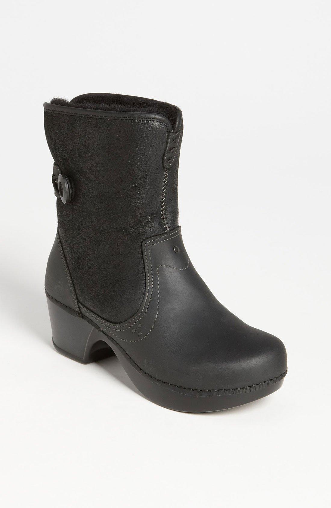 Dansko Harper Boot In Start Of Color List Black Oiled Lyst