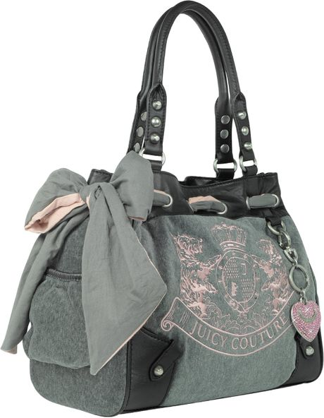 Juicy Couture Scottie Embroidery Daydreamer Shoulder Bag 49