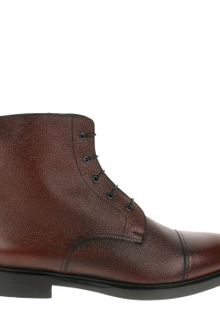 Pierre Hardy Burgundy Boots in Grained Leather - Lyst