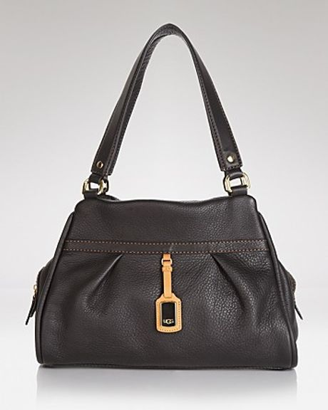ugg shoulder bag black