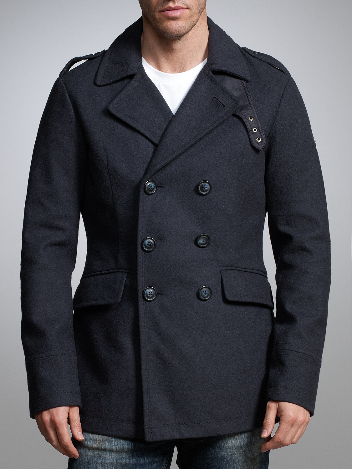attractive & durable hot-selling clearance official photos Armani Jeans Peacoat in Navy (Blue) for Men - Lyst