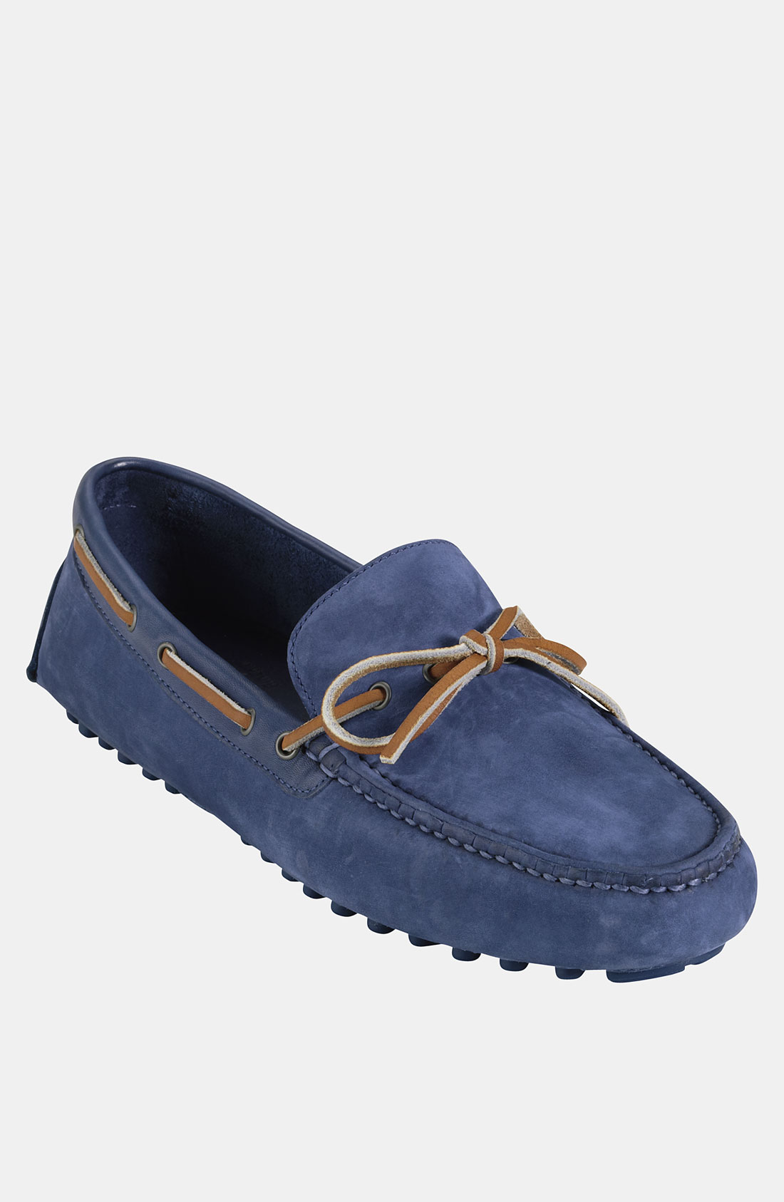 Cole Haan Air Grant Driving Shoe in Blue for Men (navy nubuck/ navy