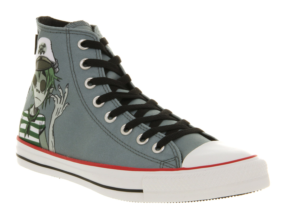 Lyst - Converse All Star Hi Noodle Gorillaz in Blue for Men 1ae096a89