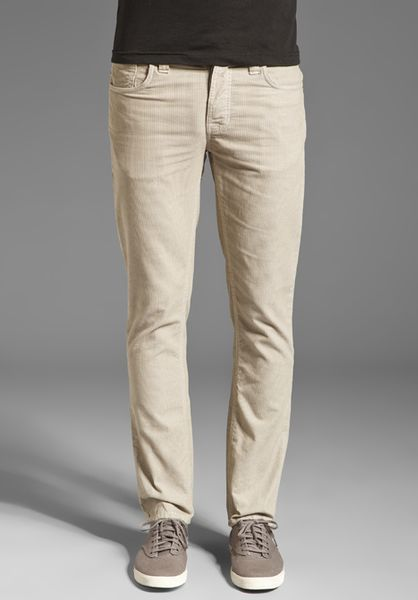 Nudie Jeans Grim Tim in Blue for Men (org. sand cord)