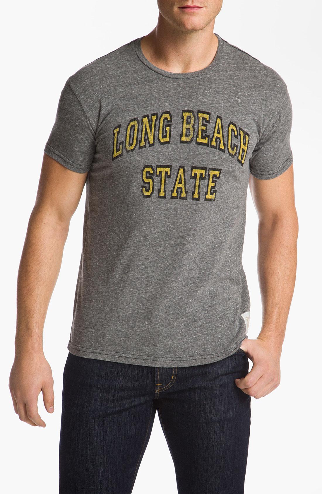 The original retro brand long beach vikings stitch tshirt for Original stitch shirt review