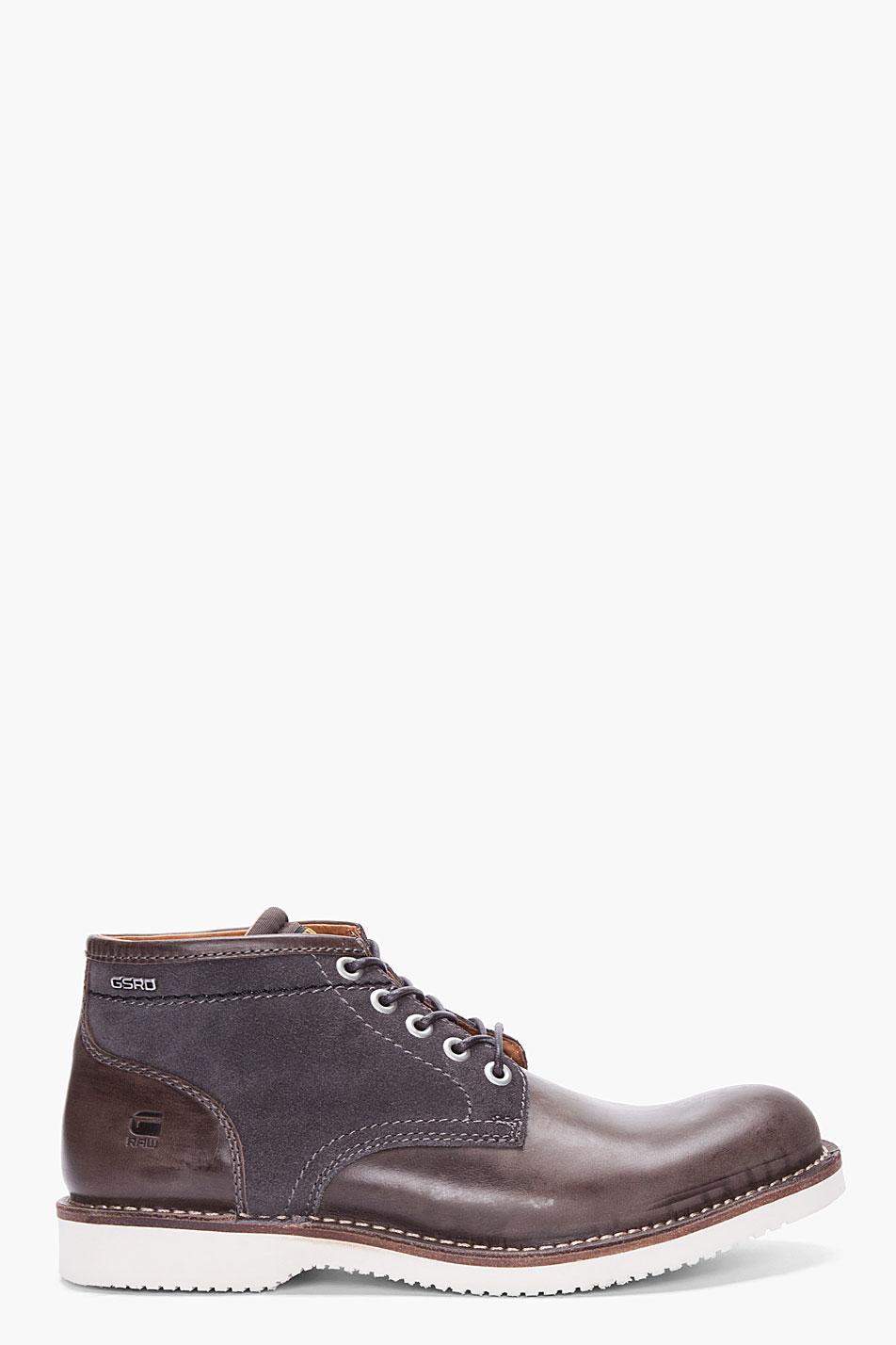 Lyst G Star Raw Grey Garreth Ii Burroughs Shoes In Gray