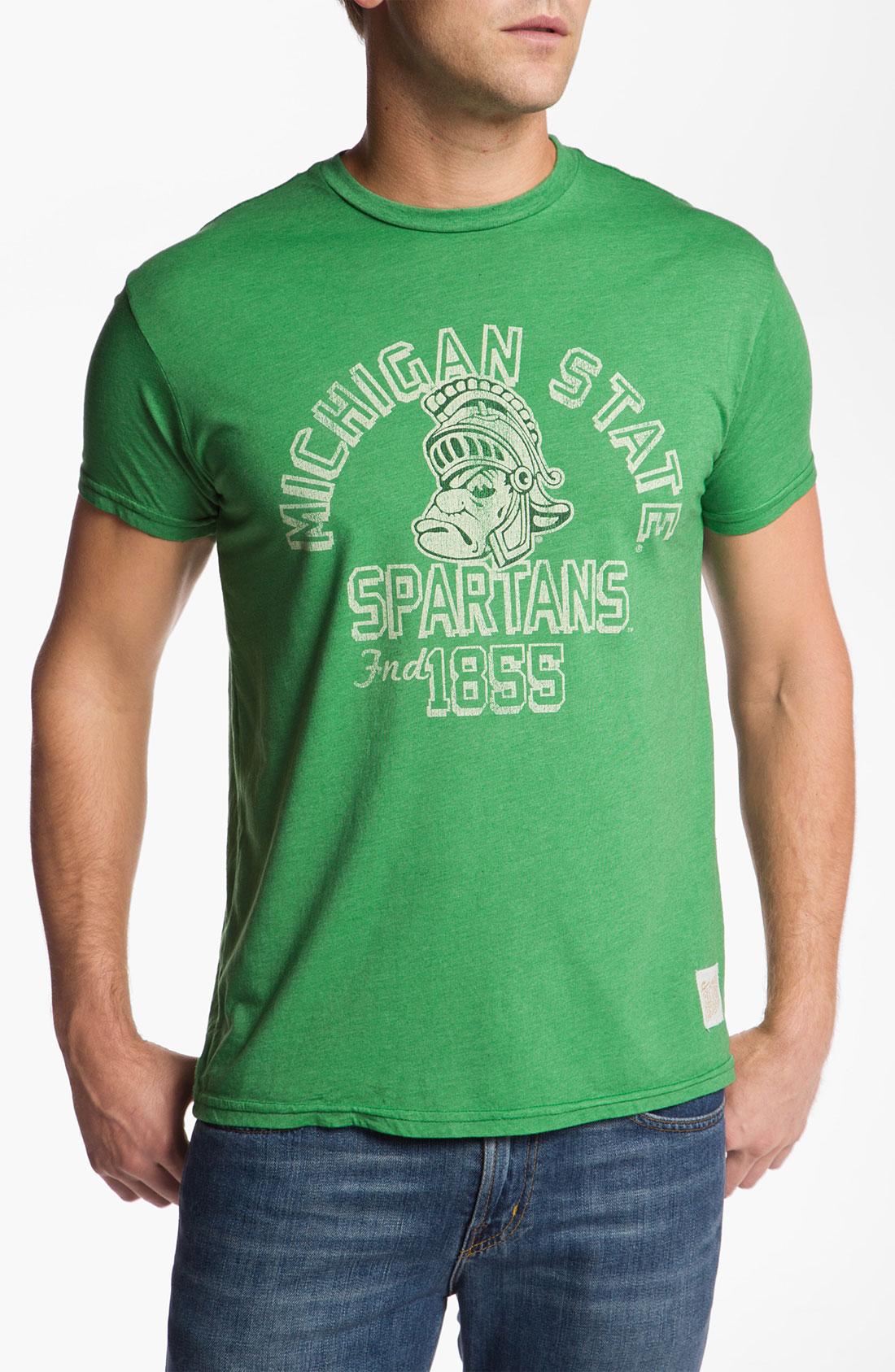 The Original Retro Brand Michigan State Boilermakers T