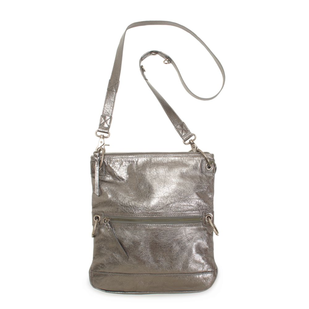 The Sak Pax Leather Crossbody Bag in Silver (graphite metallic) 3f72966c06fb1