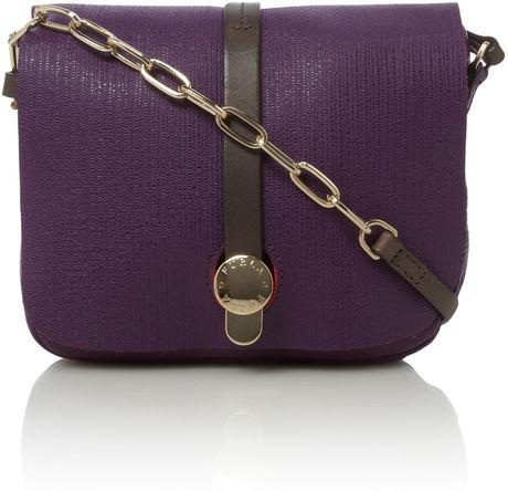 Furla Globetrotter Small Crossbody Bag in Purple