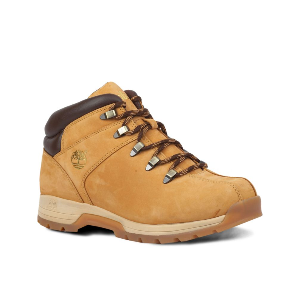 b7a554f7bbc Timberland Brown Sky High Hiker Boots for men