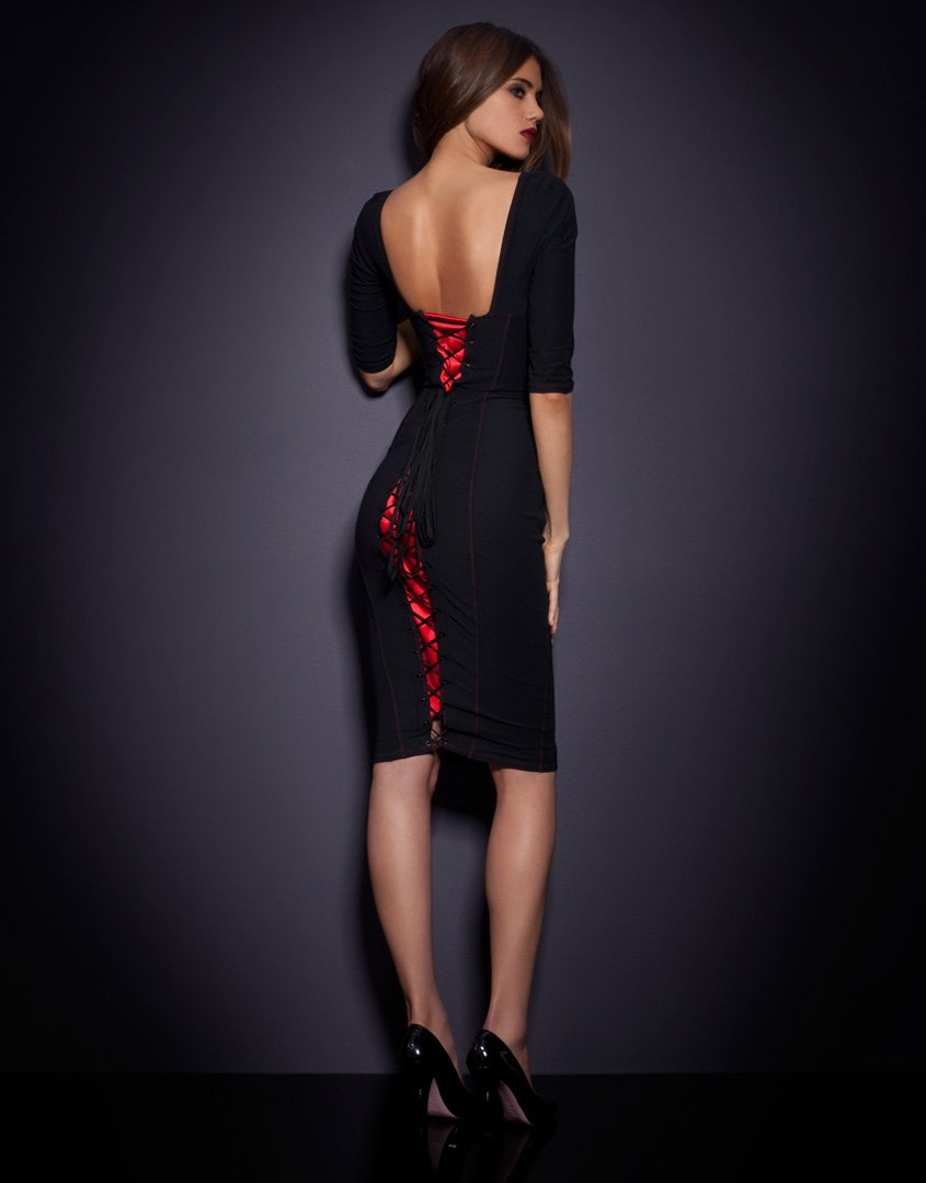Agent provocateur Thora Dress in Black | Lyst Victoria Beckham Clothing