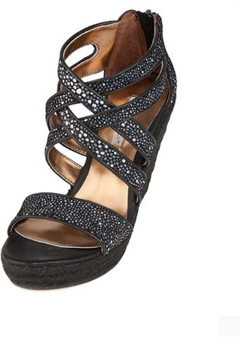 Cynthia Vincent Juno Espadrille in Black 40 Off - Lyst