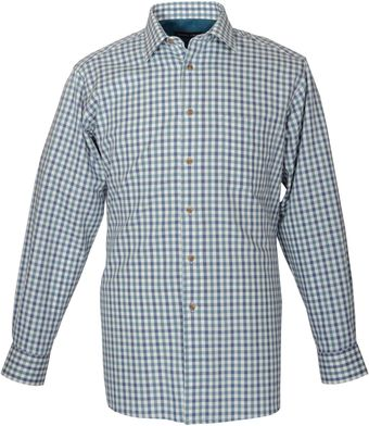 Double Two Long Sleeve Cotton Check Formal Shirt - Lyst