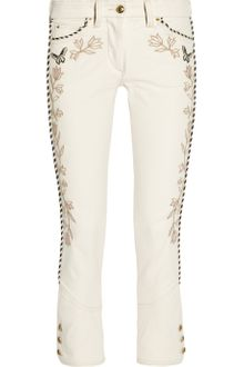 Isabel Marant Manet Embroidered Stretchdenim Jeans - Lyst