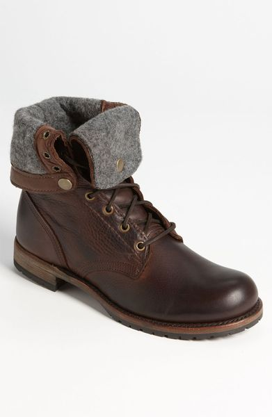 Vintage Shoe Company Ian Boot In Brown For Men Chocolate
