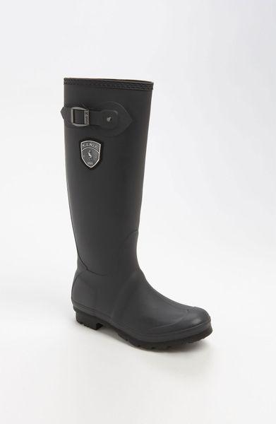 Kamik Jennifer Rain Boot In Black Charcoal Lyst