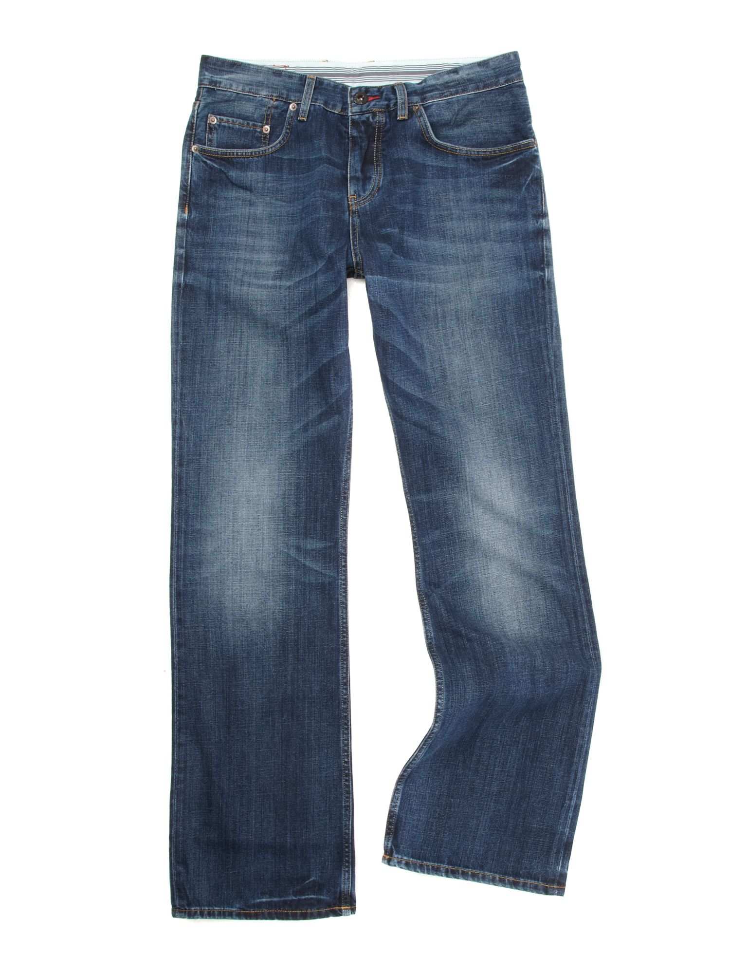 tommy hilfiger bedford bootcut jeans in blue for men lyst. Black Bedroom Furniture Sets. Home Design Ideas