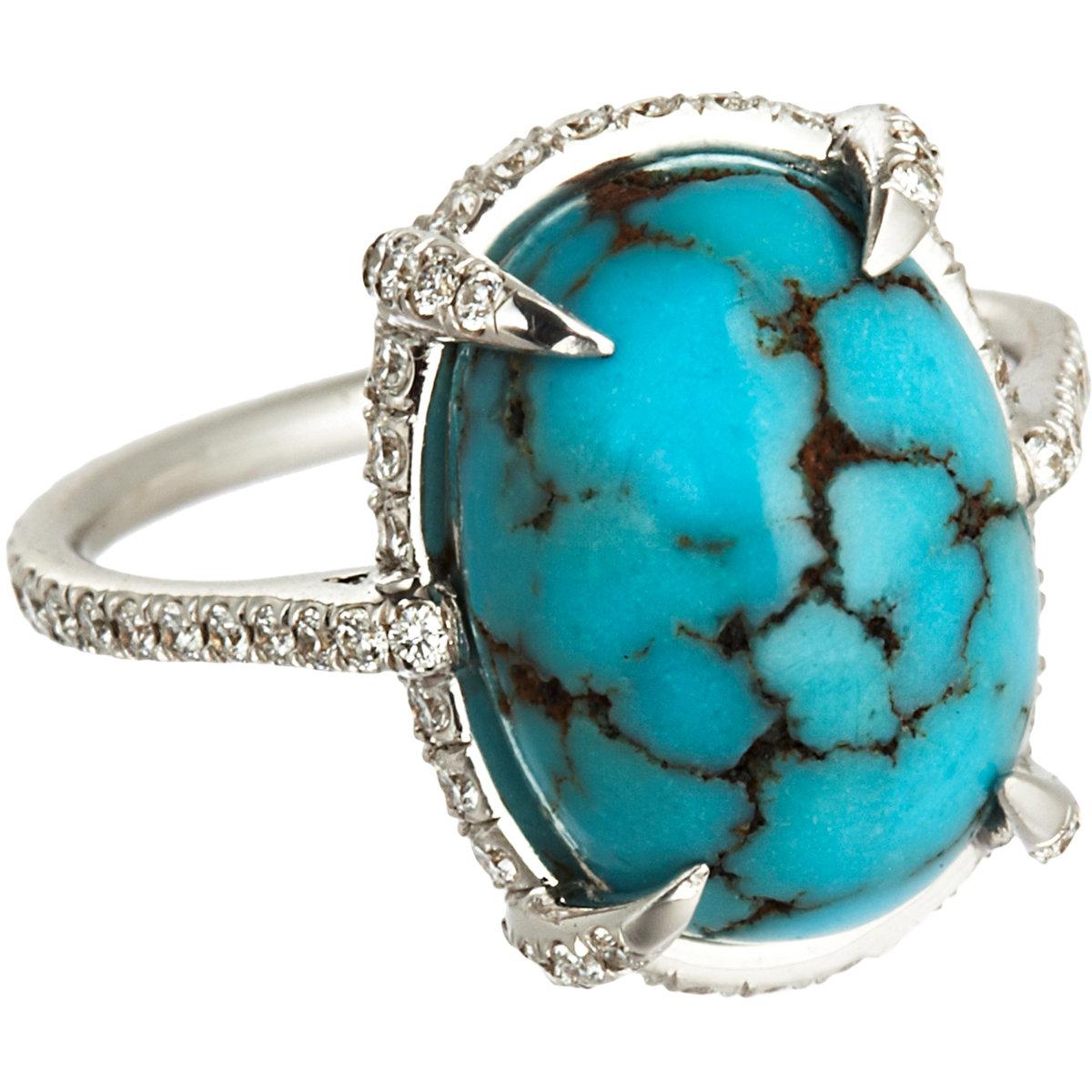 Resultado de imagen para turquoise persian rings